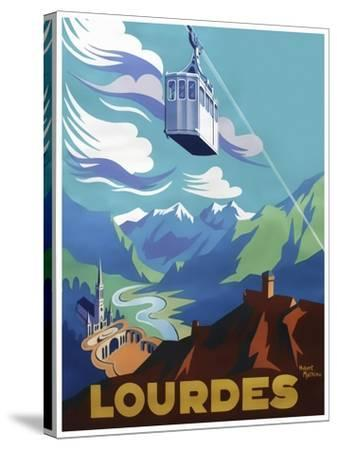 Travel 0388-Vintage Lavoie-Stretched Canvas Print