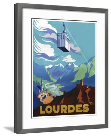 Travel 0388-Vintage Lavoie-Framed Giclee Print