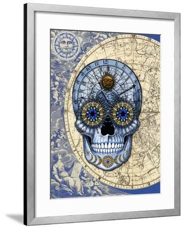 Astrologiskull-Fusion Idol Arts-Framed Giclee Print