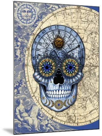 Astrologiskull-Fusion Idol Arts-Mounted Giclee Print
