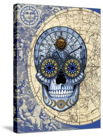 Astrologiskull-Fusion Idol Arts-Stretched Canvas Print