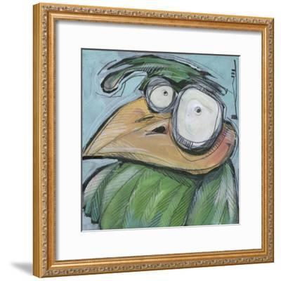Square Bird 03a-Tim Nyberg-Framed Giclee Print
