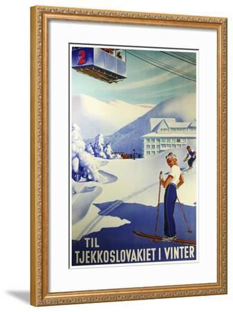 Travel Sports 009-Vintage Lavoie-Framed Giclee Print