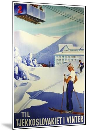 Travel Sports 009-Vintage Lavoie-Mounted Giclee Print