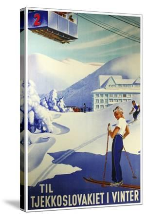 Travel Sports 009-Vintage Lavoie-Stretched Canvas Print