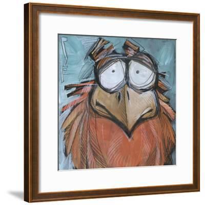 Square Bird 08a-Tim Nyberg-Framed Giclee Print