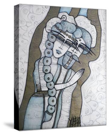 Mariage-Albena Vatcheva-Stretched Canvas Print