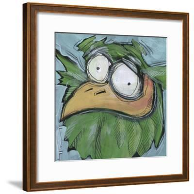 Square Bird 06a-Tim Nyberg-Framed Giclee Print