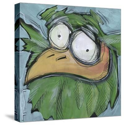 Square Bird 06a-Tim Nyberg-Stretched Canvas Print