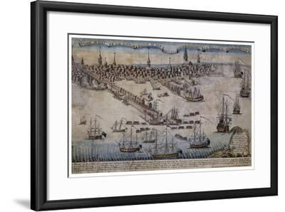 Boston Revere 1768-Vintage Lavoie-Framed Giclee Print