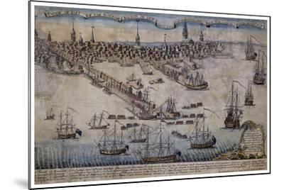 Boston Revere 1768-Vintage Lavoie-Mounted Giclee Print