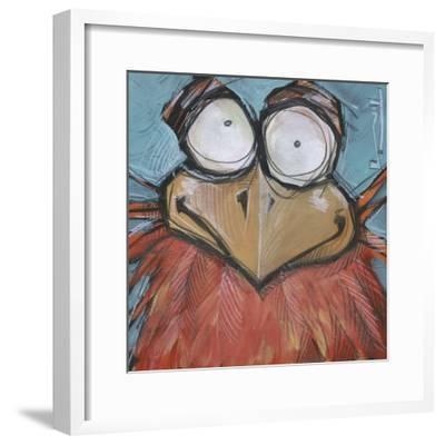 Square Bird 10a-Tim Nyberg-Framed Giclee Print