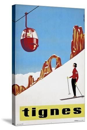 Travel Sports 031-Vintage Lavoie-Stretched Canvas Print