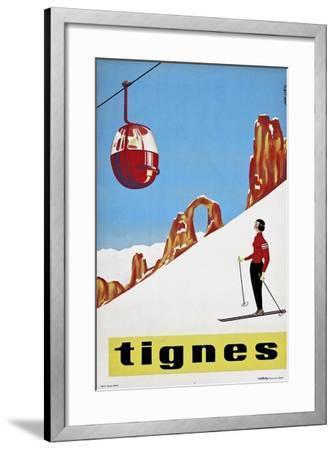 Travel Sports 031-Vintage Lavoie-Framed Giclee Print
