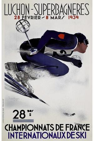 Travel Sports 033-Vintage Lavoie-Framed Giclee Print