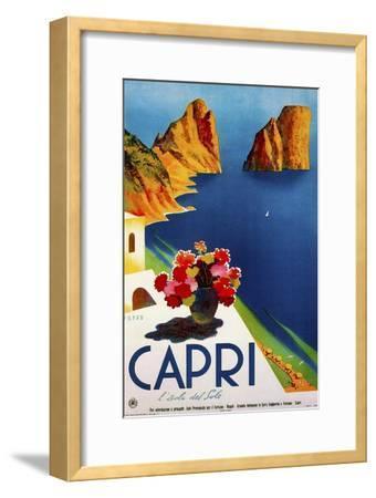 Travel 0109-Vintage Lavoie-Framed Giclee Print