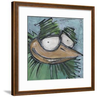 Square Bird 13a-Tim Nyberg-Framed Giclee Print