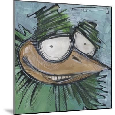 Square Bird 13a-Tim Nyberg-Mounted Giclee Print