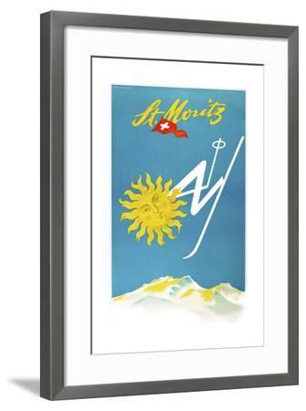 Travel 0189-Vintage Lavoie-Framed Giclee Print