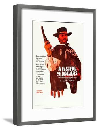 A Fistful of Dollars, Clint Eastwood, 1964--Framed Poster