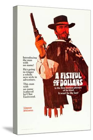 A Fistful of Dollars, Clint Eastwood, 1964--Stretched Canvas Print