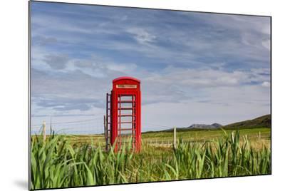 Pastoral Phone Box-Michael Blanchette Photography-Mounted Photographic Print