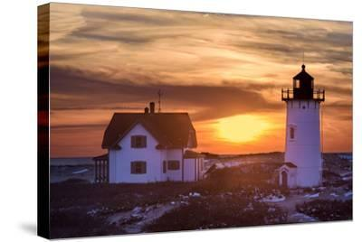 Sundown-Michael Blanchette Photography-Stretched Canvas Print