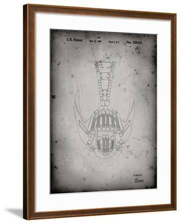 PP39 Faded Grey-Borders Cole-Framed Giclee Print