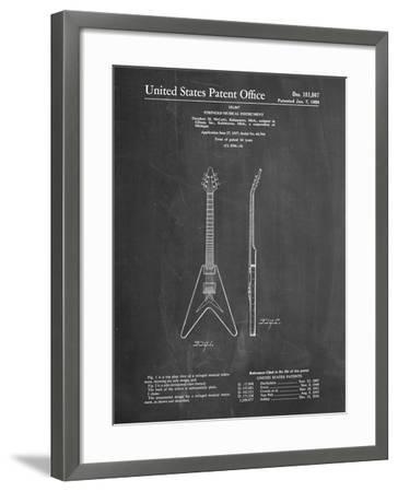 PP48 Chalkboard-Borders Cole-Framed Giclee Print