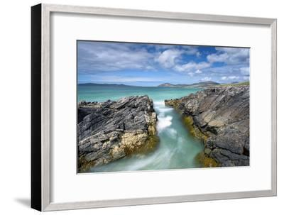 Turquoise Rush-Michael Blanchette Photography-Framed Photographic Print