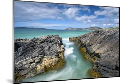 Turquoise Rush-Michael Blanchette Photography-Mounted Photographic Print