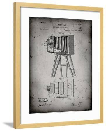 PP33 Faded Grey-Borders Cole-Framed Giclee Print