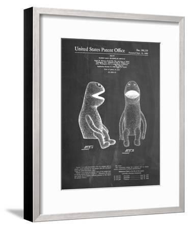 PP2 Chalkboard-Borders Cole-Framed Giclee Print