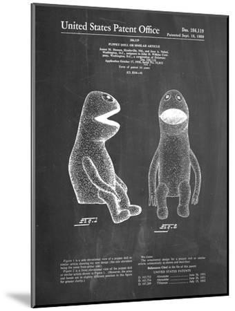 PP2 Chalkboard-Borders Cole-Mounted Giclee Print