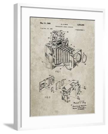 PP34 Sandstone-Borders Cole-Framed Giclee Print