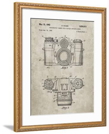 PP6 Sandstone-Borders Cole-Framed Giclee Print