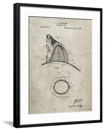 PP38 Sandstone-Borders Cole-Framed Giclee Print