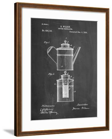 PP27 Chalkboard-Borders Cole-Framed Giclee Print