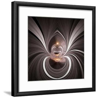 Variations On A Circle 45-Philippe Sainte-Laudy-Framed Photographic Print