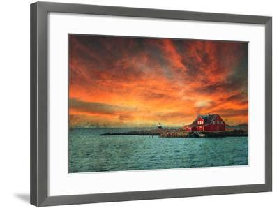 Leave The Light On-Philippe Sainte-Laudy-Framed Photographic Print