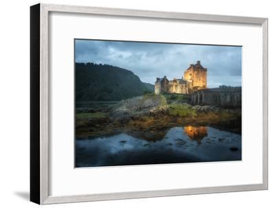 Eilean Donan Castle In Scotland-Philippe Manguin-Framed Photographic Print