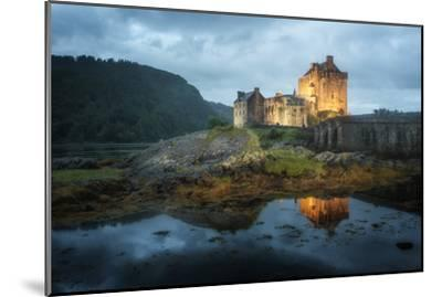 Eilean Donan Castle In Scotland-Philippe Manguin-Mounted Photographic Print