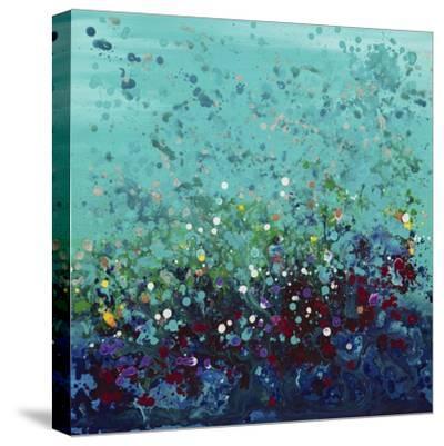 Ocean Break 2-Hilary Winfield-Stretched Canvas Print