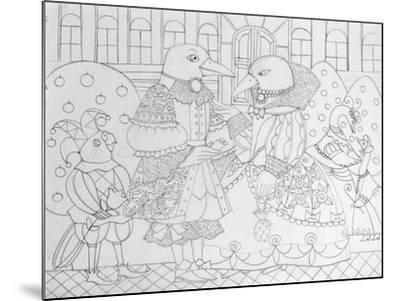 Ravens I-Oxana Zaika-Mounted Giclee Print