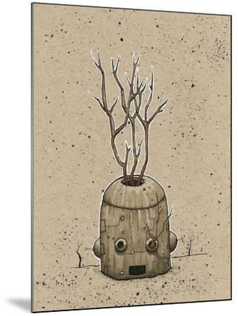 Ink Marker Bot Tree Pot-Craig Snodgrass-Mounted Giclee Print