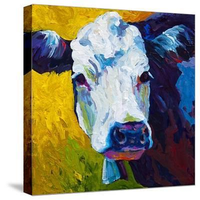 Belle-Marion Rose-Stretched Canvas Print
