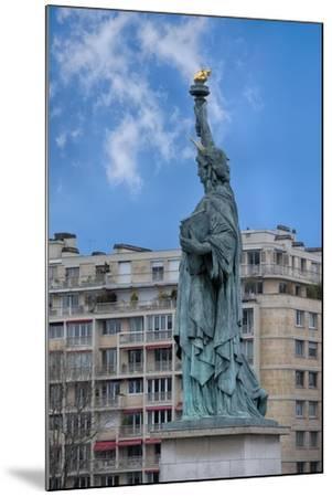 Statue Of Liberty Paris II-Cora Niele-Mounted Giclee Print