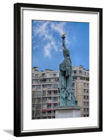 Statue Of Liberty Paris II-Cora Niele-Framed Giclee Print