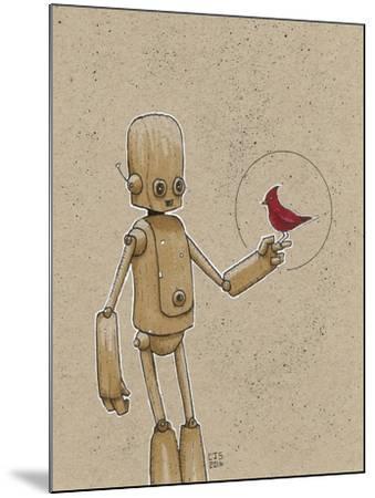 Ink Marker Bot Cardinal-Craig Snodgrass-Mounted Giclee Print
