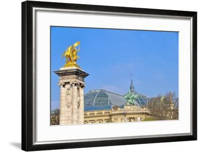 Le Grand Palais II-Cora Niele-Framed Giclee Print